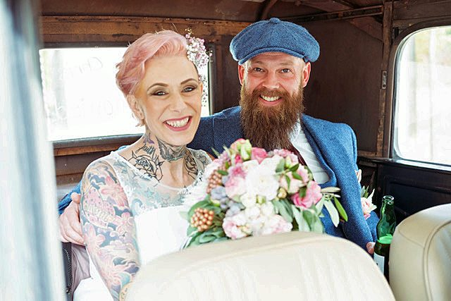 Casa Mia Hochzeit Vintage
