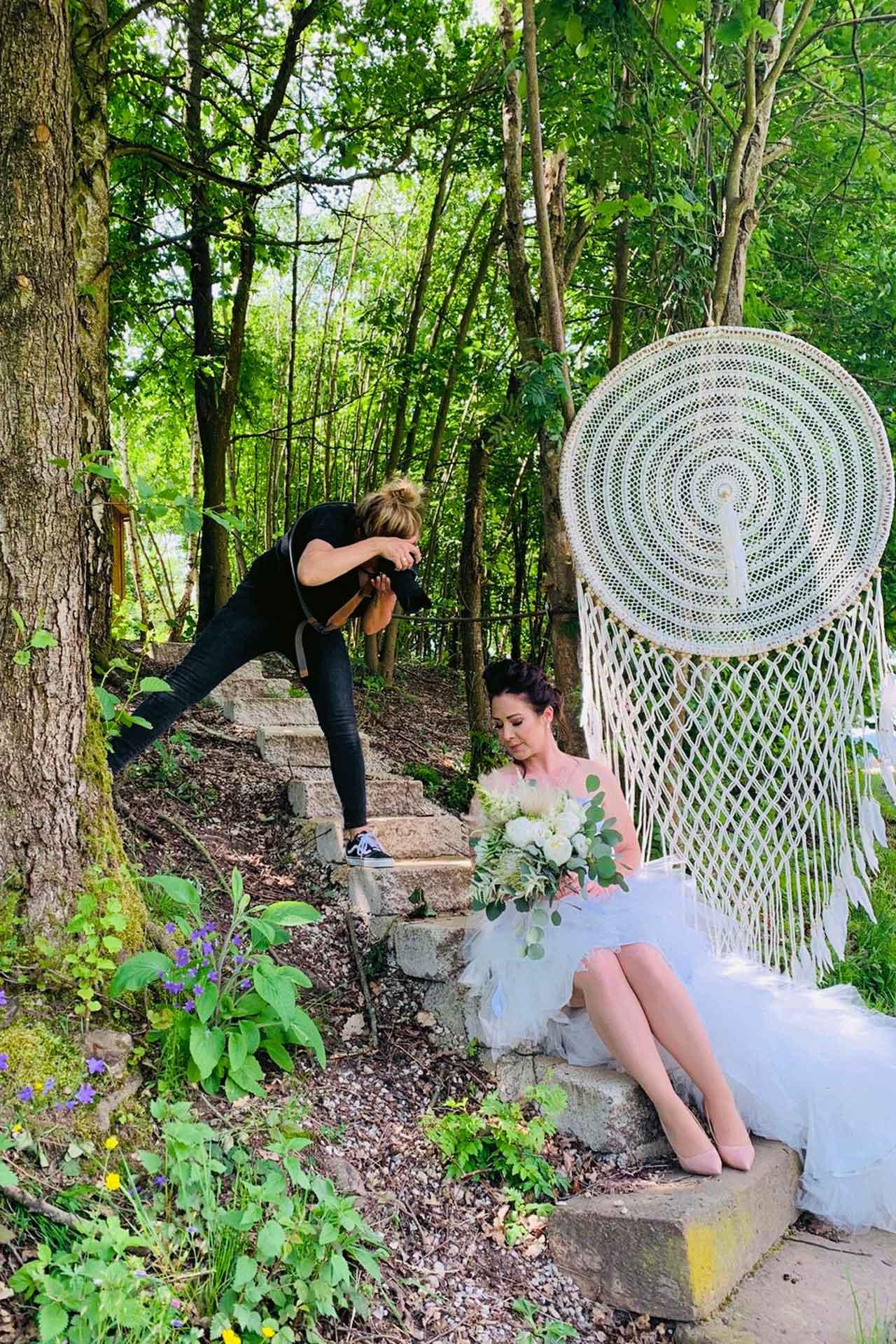 Casa Mia Wald-Michelbach - Fotoshooting Team Leininger