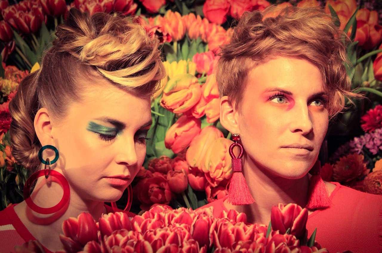 Casa Mia Fotoshooting mit Blumen